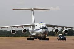 Ukrainian AF Il-76 (joolsgriff) Tags: ilyushin il76md candid 78820 ukrainianairforce riat riat2018 raffairford