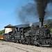 D&SNG Doubleheader (jterry618) Tags: durangosilvertonnarrowgaugerailroad durango colorado steamlocomotive railroad train engine car steam