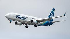 Boeing 737-990(WL) N323AS Alaska Airlines (William Musculus) Tags: ksea sea spotting seattle seatac tacoma international burien washington étatsunis us n323as alaska airlines boeing 737990wl as asa 737900wl william musculus