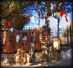 El Pollo! (Sherrianne100) Tags: kitsch elpollo giantchicken chicken souvenirs roadtrip sedona arizona hss