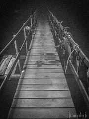 Caminho (Jaime Sales) Tags: pretoebranco ponte caminho abismoanhumas escuridão bonito ms matogrossodosul brasil brazil caverna cave bridge path abyss darkness