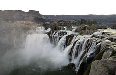 Shoshone Falls on the Snake River (Patricia Henschen) Tags: shoshonefalls waterfall waterfalls snakeriver snake river idaho city park citypark twinfalls