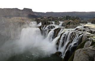 Shoshone Falls on the Snake River