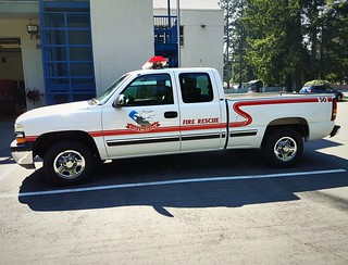 Colwood Fire-Rescue, BC Old Truck 50