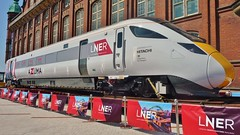 Azuma Exhibit (Jeff Mckever) Tags: azuma discoverymuseum newcastleupontyne greatexhibitionofthenorth england train lner 29thjune2018 railway