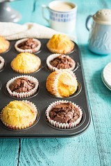 Muffins (Malgosia Osmykolorteczy.pl) Tags: food foodie foodphoto foodstyling fotografia foodphotography foodporn foodstylist feed dessert muffins