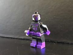Black Spider (Lego Skeleton) Tags: lego dc black spider