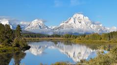 _DSC0538 (Redfishvic) Tags: schwabachers snakeriveroverlook moose grandteton mountain yellowstone reflection water