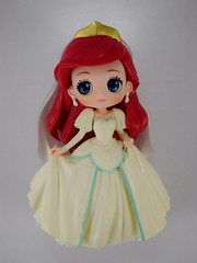 Q Posket Wedding Ariel Vinyl Figure by Banpresto - Deboxing - Ariel Assembled - Lying Down - Front View (drj1828) Tags: japan banpresto qposket figure vinyl disney princess 2018 purchase boxed 55inch 140mm dreamystyle disneycharacters normalcolor ariel thelittlemermaid deboxing