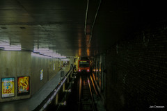 STIB-MIVB Metro (Jan Dreesen) Tags: openbaar vervoer transport public transit brussel bruxelles stib mivb metro ubahn subway train bn mx m5 station metrostation merode