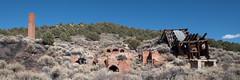 Nevada Cinnabar Mine (joeqc) Tags: nevada nv nye county fuji xe3 xf1024f4r cinnabar mine mining abandoned forgotten stack mill mercury