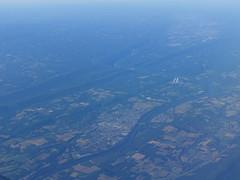 201806016 AA3815 PIT-LGA Susquehanna River (taigatrommelchen) Tags: 20180625 usa pa pennsylvania river susquehannariver williamsport town aerial view photo airplane inflight dal eny explore