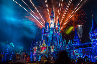 Happily Ever After Fireworks - January, 2018 [explored]
