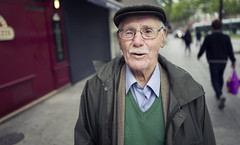 Said (JoChristo) Tags: portrait stranger paris leica leicaq streetphotography life eyes france fineartphotography man hat old lunettes