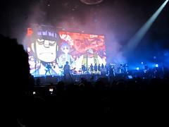 Gorillaz (Bolt of Blue) Tags: damonalbarn gorillaz theforum concert live