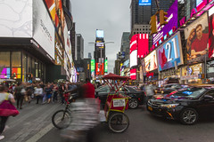 New York Walkabout (dareangel_2000) Tags: newyork newyorkcity nyc usa america unitedstates dariacasement streetphotography timessquare neonlights movement movementphotography