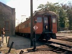 South Shore Michigan City yards 9-22-78 3 (jsmatlak) Tags: chicago south shore line michigan city indiana electric railway interurban railroad train nictd