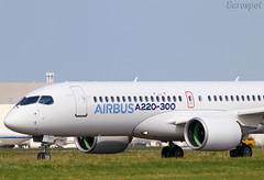 C-FFDO New Airbus A220 ex CS300 (@Eurospot) Tags: cffdo airbus a220 a220300 cs300 bombardier toulouse blagnac