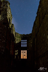 Stowaways Once Again #5 (TVZ Photography) Tags: carewcastle castell caeriw fort pembrokeshire wales lightpollution derelict decay ruin history nationalpark windows night evening stars sony a7r voigtlander 21mm ultron