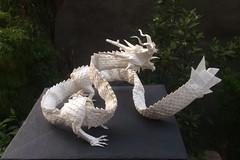 Ryujin 3.5 (Lê Huỳnh Đức) Tags: fold dragon art paper origami satoshikamiya ryuzin35 ryujin35 papersculpture