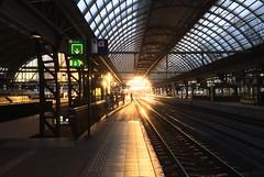 Centraal Station Amsterdam (Marjolein Benard) Tags: centraalstation amsterdam eveningsun avondzon centralstation