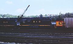 Baltimore & Ohio 7437 (CPShips) Tags: bo chessiesystem emd sd35 cumberland 1976