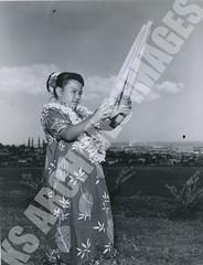 932- 5556 (Kamehameha Schools Archives) Tags: kamehameha archives ksg ksb ks oahu kapalama luryier pop diamond 1955 1956 lei day kspd