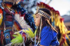 It's gonna be my turn (PeterThoeny) Tags: stanford stanforduniversity california siliconvalley sanfranciscobay sanfranciscobayarea southbay powwow stanfordpowwow festival competition dance costume americanindian portrait person girl child feather dusk sony a7 a7ii a7mii alpha7mii ilce7m2 fullframe vintagelens dreamlens canon50mmf095 canon 1xp raw photomatix hdr qualityhdr qualityhdrphotography fav100