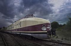 Train (1) (david_drei) Tags: train lost decay vt18 ddr eisenbahn bahn diesel vt1816 dr deutschereichsbahn