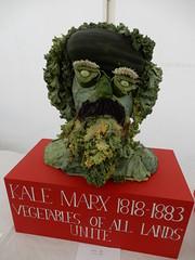 """Kale Marx"": vegetable sculpture (John Steedman) Tags: brockwellpar lambethcountryshow lambeth london uk unitedkingdom england イングランド 英格兰 greatbritain grandebretagne grossbritannien 大不列顛島 グレートブリテン島 英國 イギリス ロンドン 伦敦"