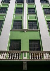 Green Building, Old San Juan (Foto Blitz Color) Tags: sanjuan puertorico july summer oldsanjuan building green