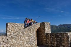 TopShot (H. Eisenreich) Tags: españa andalusien andalucia sierra zahara castle burg personen selfie mountain photo himmel sky grazalema castillo