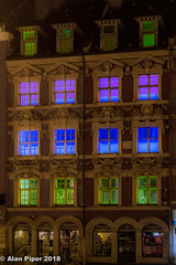 Layers of Light (PapaPiper (Travelling with my camera)) Tags: lille architecture france buildings historicbuildings europe cityscape night lights
