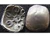 Taxila (Baltimore Bob) Tags: ancient coin money silver eighth satamana india indian pakistan pakistani indus valley taxila