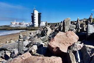 Rocks On The Breakwaters - Fittie Beach Footdee - Aberdeen Scotland 30/6/2018