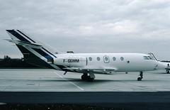 Uni Air Dassault Falcon 20E F-GGMM (c/n 300) (Manfred Saitz) Tags: viennainternationalairport schwechat vie loww flughafen wien uni air dassault falcon 20 fa20 fggmm freg
