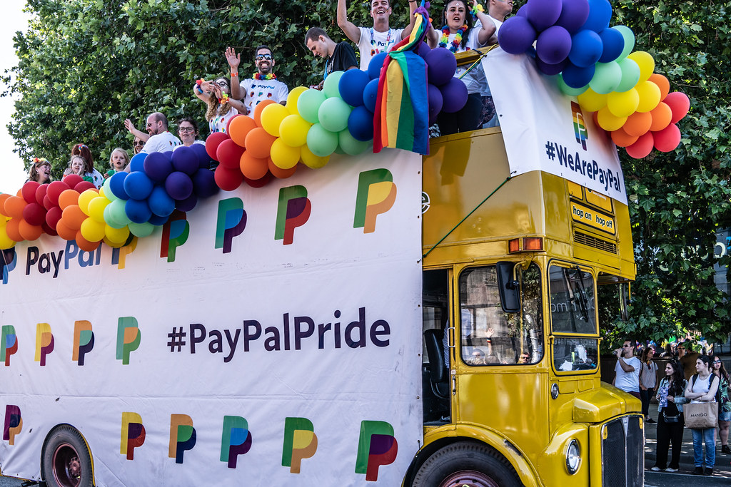 ABOUT SIXTY THOUSAND TOOK PART IN THE DUBLIN LGBTI+ PARADE TODAY[ SATURDAY 30 JUNE 2018] X-100130