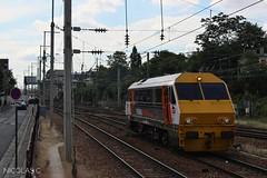 Matisa VT2 - AUTOM - Train n°812321 Paris-Saint-Lazare > Conflans-Ste-Honorine (nicolascbx) Tags: matisa vt2 vigirail automotor automoteur sncf sncfréseau infra sncfinfra parisstlazare conflansstehonorine train measurementtrain trackgeometry messzug