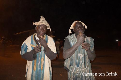 Boundiali night - at the village dance