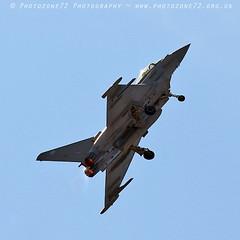 0116 Typhoon (photozone72) Tags: aviation airshows aircraft airshow yeovilton yeoviltonairday jets canon canon7dmk2 canon100400f4556lii 7dmk2 raf typhoon raftyphoondisplay eurofighter