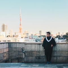 _MG_6727 (waychen_c) Tags: japan tokyo minatoku roppongi roppongihills moribuilding tokyotower tower cityscape skyline person portrait 日本 東京 港区 六本木 六本木ヒルズ 六本木之丘 東京タワー 東京鐵塔 2017東京旅行 waychen