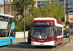 Electric Waverley. (SRB Photography Edinburgh) Tags: lothian buses bus transport road travel