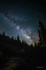Milky Way, Guenella Pass, Colo. (Dan Makolondra) Tags: milkyway colorado night mountains sky