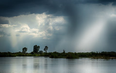 Before the Storm (zimbart) Tags: caprivi kalimbezachannel namibia africa