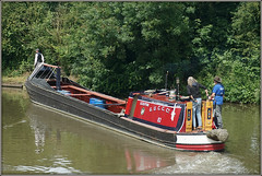 SCULPTOR (Jason 87030) Tags: sculptor boat cut canal guc braunston historic rally event day 2018 summer water old narrowboat workingboat trees local northants northamptonshire grandunioncanal break grandunioncanalcarryingcompany