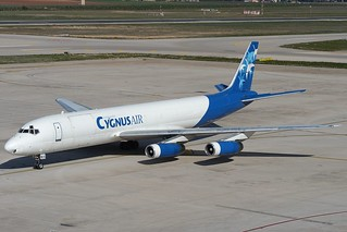 Douglas DC-8-62(F) Cygnus Air EC-EMX PMI LEPA
