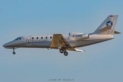 Hahn Air 680 Citation Sovereign D-CHRD (José M. Deza) Tags: 20180715 680citationsovereign bcn cessna dchrd elprat hahnair lebl planespotting purojet spotter aircraft