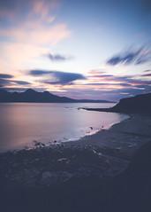 Rùm & Eigg, Inner Hebrides, Scotland (Nils Leonhardt) Tags: scotland hebrides isleofeigg eigg isleofrum nikon nikond810 sigmaart sigmalens seascape landscape nature ocean longexposure leefilters leebigstopper coastline bay nilsleonhardt