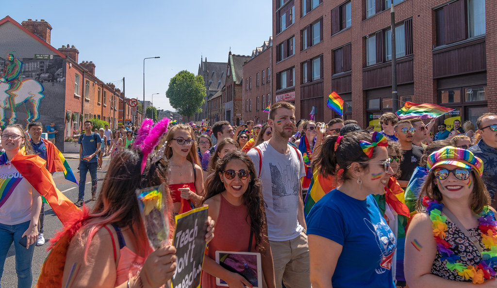 ABOUT SIXTY THOUSAND TOOK PART IN THE DUBLIN LGBTI+ PARADE TODAY[ SATURDAY 30 JUNE 2018]-141757