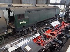 Southern Railways Battle of Britain Class Pacific Loco No.34070 Manston (metrogogo) Tags: 34070 manston dukeofgloucester 71000